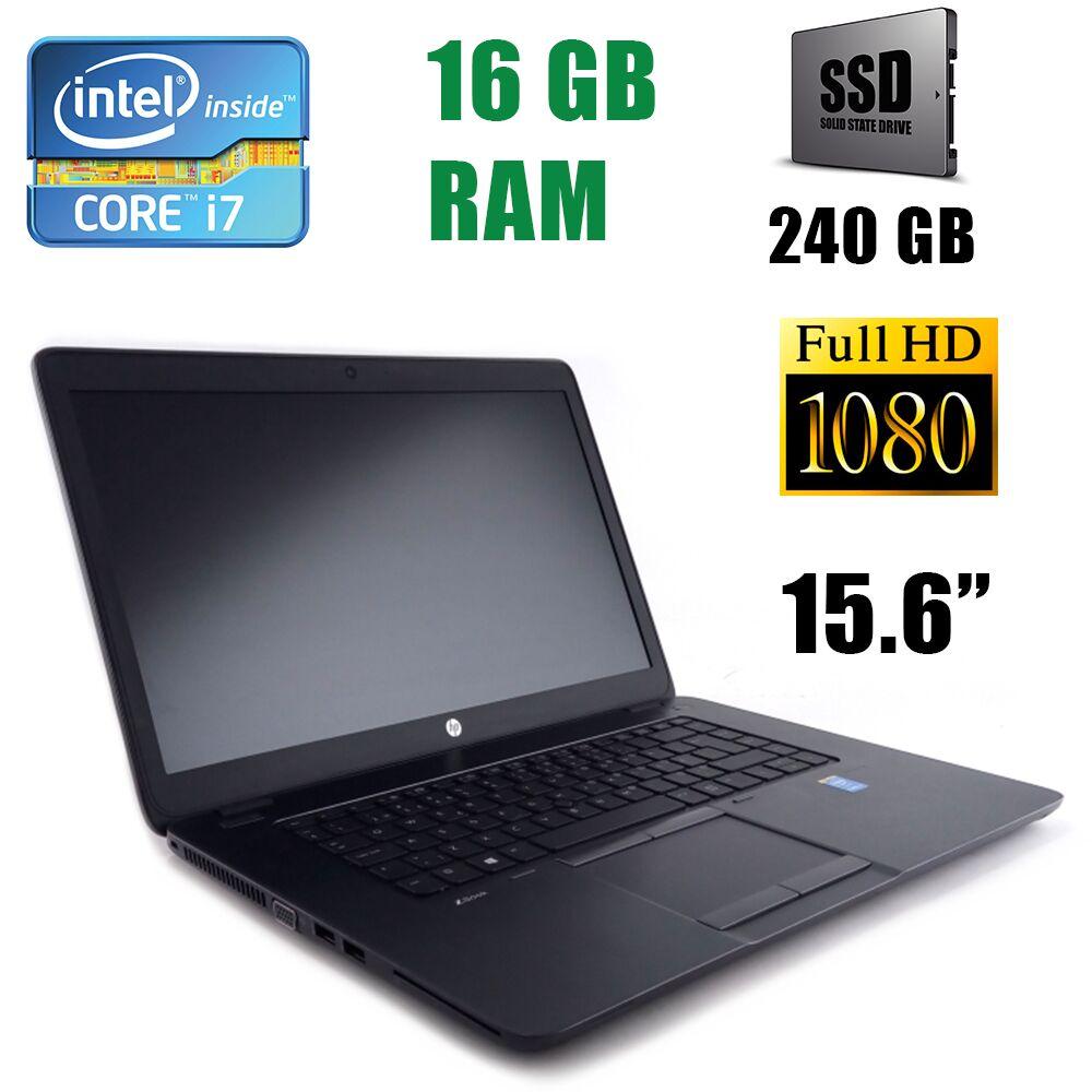 """Hewlett Packard / HP ZBook 15u G2 Workstation / 15.6"""" (1920x1080) / Intel Core i7-5500U (2(4)ядра по 2.40-3.0GHz) / 16 GB DDR3 / 240 GB SSD"""