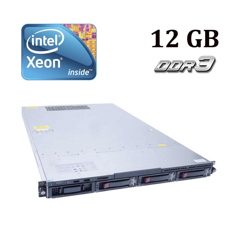 HP Proliant DL120 G7 1U / Intel® Xeon® E3-1240 (4 (8) ядра по 3.30 - 3.70 GHz) / 12 GB DDR3 / No HDD