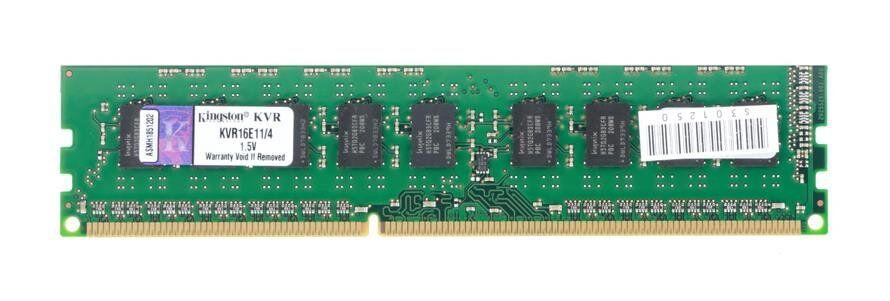 Серверная оперативная память Kingston 4GB DDR3 ECC Unbuffered 1600Mhz