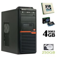 Acer DT55 MT / Athlon II X2 260 (2 ядра по 3.2 GHz) / 4 GB DDR3 / 250 GB HDD / nVidia GeForce GTX 550 Ti 1GB GDDR5 192-bit