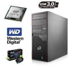 Fujitsu p710 / Intel Core i3-3220 (2(4) ядра по 3.3GHz) / 6GB DDR3 / 500GB HDD WD / GeForce GT 730 2GB / USB 3.0