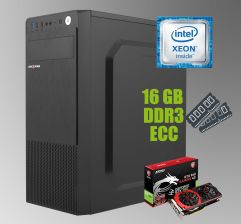 Logic Power LP2008 ATX / Intel Xeon E5-2650 (8 (16) ядер по 2.0-2.8 GHz) / 16 GB DDR3 ECC / new 240 GB SSD+500 GB HDD / nVidia GeForce GTX 960 4GB GDDR5 128-bit