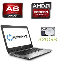 HP PROBOOK 645 G1 / 14' / AMD A6-4400M (2 ядра по 2.7-3.2GHz) / 4GB RAM / 320GB HDD / Radeon HD 7520G