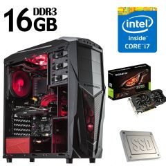 Xigmatek MACH II / Intel Core i7-4770 (4(8) ядер по 3.4-3.9GHz) / 1000GB HDD + Новый SSD на 120 Гб / 16 GB DDR3 / Новый БП 500W / НОВАЯ Видеокарта GeForce GTX 1050ti 4Gb DDR5 (HDMI,DVI,DP) 12 мес. гарантии