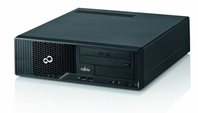 Fujitsu-Siemens Esprimo Е510 SFF / Intel Core i5-3470 (4 ядра по 3.2GHz) / 8GB DDR3 1600 МГц / 500GB HDD / 4x USB 3.0 +  Наклейка Windows 7 Professional