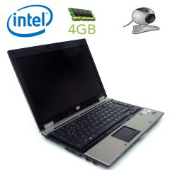 HP Elitebook 6930p / 14'' / 1280x800 TFT / Intel Core 2 Duo P8600 (2 ядра по 2.40 GHz) / 4 GB DDR2 / 120 GB HDD / DVD, Wi-Fi, Bluetooth, card-reader / web-cam