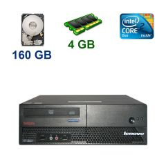 Lenovo M57 SFF / Intel Core 2 Duo E6550 (2 ядра по 2.33 GHz) / 4 GB DDR2 / 160 GB HDD