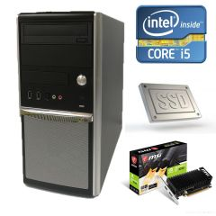 EuroCom Tower / Intel Core i5-660 (2(4) ядра по 3.33-3.6GHz) / 8GB DDR3 / 240GB SSD new /  new! nVidia GeForce GT 1030 2GB GDDR5