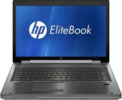 "HP EliteBook 8760w / 17.3"" (1920x1080) TN / Intel Core i7-2640M (2 (4) ядра по 2.8 - 3.5 GHz) / 8 GB DDR3 / 120 GB SSD / nVidia Quadro 1000M 2 GB / DVD-RW"
