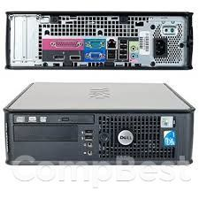 Dell 780 SFF / Intel Core 2 Quad Q8200 (4 ядра по 2.33GHz) / 8GB DDR3 / 320GB HDD / без привода