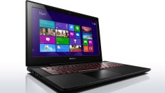 "Lenovo Y50-70 / 15.6"" (1920x1080) TN / Intel Core i7-4720HQ (4 (8) ядра по 2.6 - 3.6 GHz) / 8 GB DDR3 / 240 GB SSD / nVidia GeForce GTX 960M 2 GB / DVD-RW"