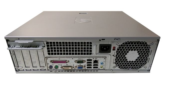 HP Compaq dc5750 SFF / AMD Athlon X2 4400 (2 ядра, 2.3GHz) / 4GB DDR2 / 250GB HDD / нова GeForce GT 730 1GB DDR3 (HDMI, DVI, VGA)