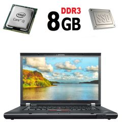 Lenovo T530 / 15'6 / Intel Core i3-3120M (2(4) ядра по 2.50GHz) / 8GB DDR3 / new! 120GB SSD/ Intel HD Graphics 3000 / HDMI, USB, VGA