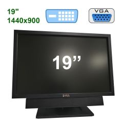 "Dell E1911c / 19"" (1440x900) TFT TN / VGA, DVI / Portable Acoustic System"