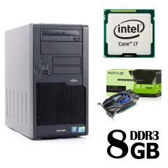 Fujitsu P9900 / Intel Core i7-860 (4(8) ядер по 2.8-3.46GHz) / 8GB DDR3 / 500GB HDD / nVidia GeForce GT 1030 2GB GDDR5