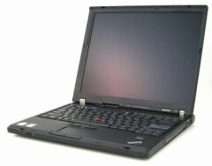 "Ноутбук Lenovo ThinkPad T61 / 15.4"" (1680x1050) TN / Intel Core 2 Duo T8300 (2 ядра по 2.4 GHz) / 320 GB HDD / DVD-ROM"