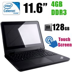 "ThinkPad Yoga 11e / 11.6"" TouchScreen / 1366x768 (16:9) / Intel Celeron N2940 (4 ядра по  1.83-2.25GHz) / 4GB DDR3 / 128GB SSD / HDMI, USB 3.0"