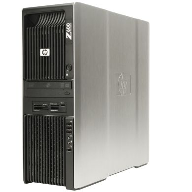 Hewlett-Packard Z600 Workstation / Intel Xeon E5620 / 8192 MБ RAM / 250 ГБ HDD / NVIDIA Quadro K2000 2 GB GDDR5 128-bit Graphics