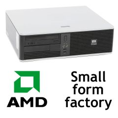 HP Compaq dc5750 SFF / AMD Athlon X2 3800 (2 ядра, 2.0GHz) / 2GB DDR2 / 80GB HDD / ATI Radeon 1150 / DVD-R