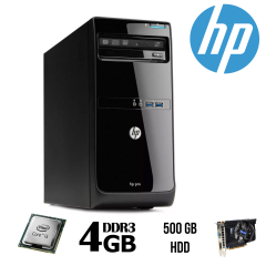 HP Pro 3500 MT / Intel® Core™ i3-3220 (2 (4) ядра по 3.3 GHz)/ 4 GB DDR 3 / 500 GB HDD + видеокарта GeForce GTX550 Ti 1 GB DDR5 192 bit