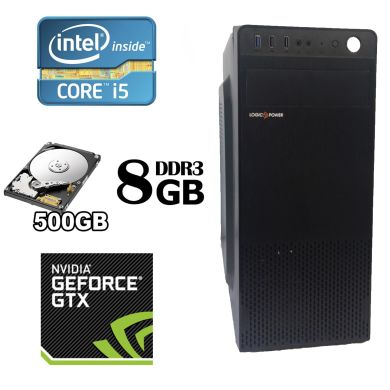 MSI MiniTower / Intel® Core™ i5-2400 (4 ядра по 3.10 - 3.40 GHz) / 8 GB DDR3 / 500 GB HDD / GeForce GTX 960 2GB GDDR5 128 bit