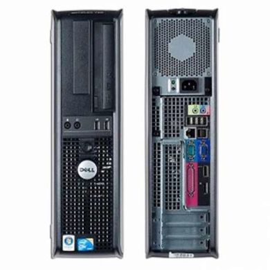 Dell Optiplex 780 SFF / Intel Core 2 Duo E8400 (2 ядра по 3.0GHz) / 4GB DDR3 / 160GB HDD 10000 об/мин / Radeon HD7570 1GB GDDR5 128bit