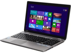 "Toshiba Satellite P55T-A5116 / 15.6"" (1920x1080) TN Touch Screen / Intel Core i5-4200U (2 (4) ядра по 1.6 - 2.6 GHz) / 8 GB DDR3 / 240 GB SSD / WebCam / DVD-RW"