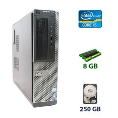 Dell OptiPlex 3010 SFF / Intel Core i5-3350P (4 ядра по 3.1 - 3.3 GHz) / 8 GB DDR3 / 250 GB HDD