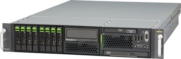 Fujitsu PRIMERGY RX300 S5 / 2 процессора Intel Xeon x5550 / 4GB DDR3 / 734 GB 5x SAS 10000rpm / 1500 W
