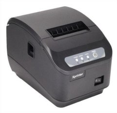 Термопринтер, POS, чековий принтер Xprinter XP-Q200II LAN Black (XP-Q200II)