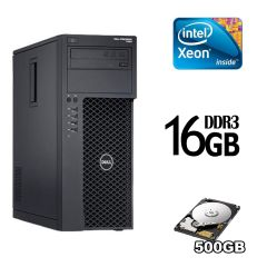DELL Precision T1650 / Intel Xeon E3-1225 V2 (4 ядра по 3.2-3.6GHz) / 16GB DDR3 / 500 GB HDD