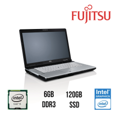 "Fujitsu Lifebook S751 / 15.6"" / Intel® Core™ i5-2520M (2(4) ядра по 2.5 - 3.2GHz) / 6GB DDR3/ Новый SSD на 120GB / Intel HD Graphics 3000/ VGA, DP, USB3.0/ WebCam"