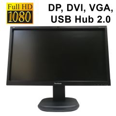 "ViewSonic VG2437mc-LED / 23.6"" / 1920x1080 WLED / DP, DVI, VGA, USB Hub 2.0 / встроенные колонки 2х2Вт"