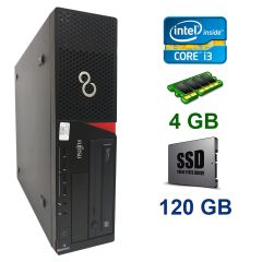 Fujitsu E720 Desktop / Intel Сore i3-4130 (2(4) ядра по 3.40GHz) / 4 GB DDR3/ 120 GB SSD NEW