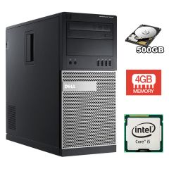 DELL 7010 Tower / Intel Core i5-3550 (4 ядра по 3.3-3.7GHz) / 4GB DDR3 / 500 GB HDD
