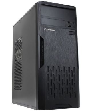 GameMax ET210 Tower / Intel® Celeron® J1800 (2 ядра по 2.41 - 2.58 GHz) / 4 GB DDR3 / 320 GB HDD