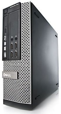 Комплект Dell Optiplex 7010 SFF / Intel® Core™ i3-3220 (2 (4) ядра по 3.3 GHz) / 4 GB DDR3 / 120GB SSD + Монитор Philips Brilliance 220B4L / 22'' / Class A 1680 х 1050 (16:10) / VGA, DVI / Black