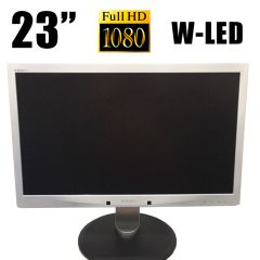 "Philips 231P4U / 23"" / 1920x1080 (16:9) / VGA, USB 3.0, LAN"