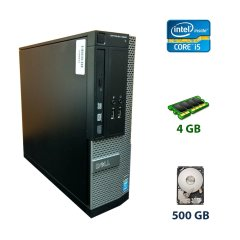 Dell 3020 SFF / Intel Core i5-4570 (4 ядра по 3.2 - 3.6 GHz) / 4 GB DDR3 / 500 GB HDD