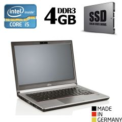 "Fujitsu LifeBook E743 / 14"" (1600x900) / Intel® Core™ i5-3230M (2 (4) ядра по 2.60 - 3.20 GHz) / 4GB DDR3 / 120GB SSD / VGA, DP, USB 3.0, WebCam"