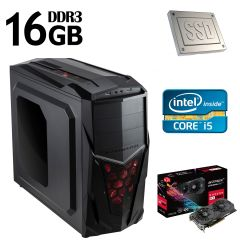 Xigmatech MACH 2 / Intel Core i5-4570 (4 ядра по 3.2GHz) / NEW! 16GB DDR3 / 120GB SSD NEW! + 1000GB HDD / NEW! Asus Gaming Strix RX 570 4GB GDDR5 / NEW! БП-600W