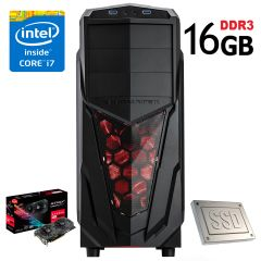 Xigmatech MACH 2 / Intel Core i7-4770 (4(8) ядра по 3.4GHz) / NEW! 16GB DDR3 / 120GB SSD NEW! + 1000GB HDD / NEW! Asus Gaming Strix RX 570 4GB GDDR5 / NEW! БП-600W