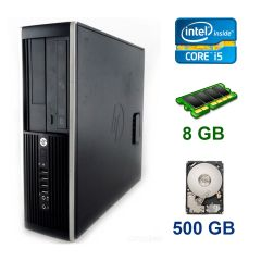 HP Compaq Elite 8200 SFF / Intel Core i5-2500 (4 ядра по 3.3 - 3.7 GHz) / 8 GB DDR3 / 500 GB HDD