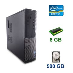 Dell OptiPlex 3020 SFF / Intel Core i5-4570 (4 ядра по 3.2 - 3.6 GHz) / 8 GB DDR3 / 500 GB HDD / AMD Radeon HD 8490, 1 GB DDR3, 64-bit