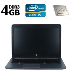 HP 840G1 / 14' /  Intel Core I5-4210U (2(4) ядра по 1.7-2.7GHz) / 4GB DDR3 / 120GB SSD / Windows 8.1 Pro license