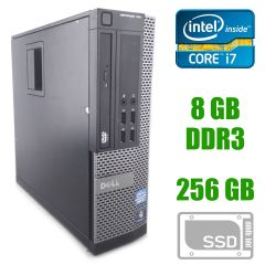 Dell Optiplex 790 SFF / Intel Core i7-2600 (4(8) ядра по 3.4 - 3.8 GHz) / 8 GB DDR3 / 256 GB SSD