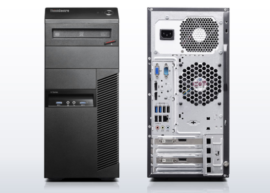 Lenovo M83 Tower / Intel® Core™ i5-4570 (4 ядра по 3.20 - 3.60 GHz) / 12GB DDR3 / 500GB HDD + SSD Kingston 120GB NEW / Видеокарта GF GTX 1060 (3GB DDR5 192bit) (HDMI,DVI,DP)  / БП 500W NEW