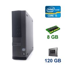 Dell OptiPlex 790 SFF / Intel Core i5-2400 (4 ядра по 3.1 - 3.4 GHz) / 8 GB DDR3 / 120 GB SSD / AMD Radeon HD 8490, 1 GB DDR3, 64-bit