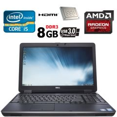 Dell Latitude E6540 / 15.6' / Intel Core i5-4300M (2(4) ядра по 2.6-3.3GHz) / 8GB DDR3 / 120 GB SSD / ATI HD 8790M 2GB DDR5 128-bit / USB 3.0 / web-cam