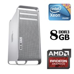Apple Mac Pro 5.1 Tower / Intel® Xeon® W3530 (4 (8) ядра по 2.80 - 3.06 GHz) / 8 GB DDR3 ECC / 1 TB HDD / ATI Radeon HD 5770 (1 GB 128-bit GDDR5)